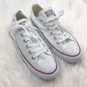 New Converse White Low Top Sneakers